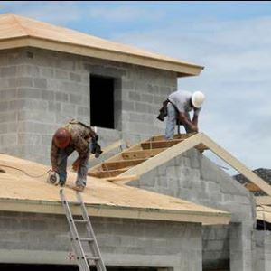 Roofing Contractors Making Noise